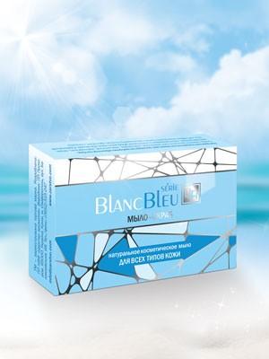 Мыло-скраб для всех типов кожи «Blanc Bleu»