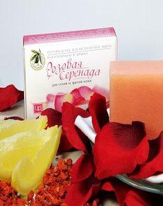 Розовая Серенада - мыло для сухой и зрелой кожи