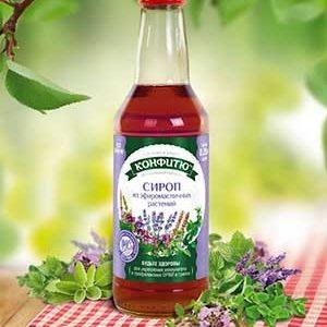 """Сироп """"Будьте здоровы"""" из эфиромасличных растений"""