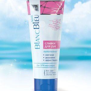 """Сливки для ухода за кожей рук """"Blanc Bleu"""""""