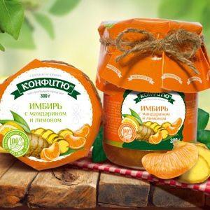 Варенье из имбиря с апельсином и лимоном